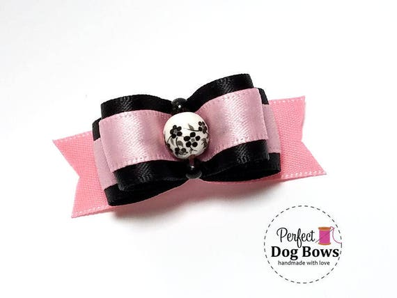 Dog Bows for Girls, Puppy Hair Bow, Bows for Small Dogs, Fancy Dog Bow