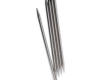 ChiaoGoo 6 Inch / Sizes 0 - 11 Stainless Steel Double Point Knitting Needles