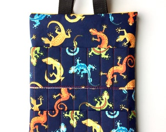 Childs Tote,Activity Bag,Busy Bag,Coloring Tote,Crayon Bag,Kids Purse,Birthday Gift,Art Supply Bag,Chameleons,Dory,Gifts under 20