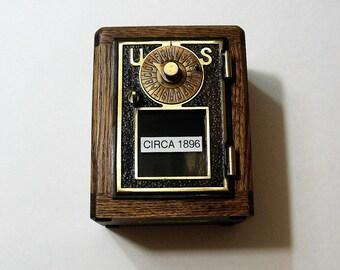 Post Office Box 1896 Door  Bank Safe