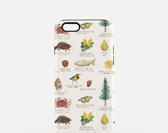 iPhone 7 Case / Oregon State Symbols iPhone 7 Case / iPhone 7 Tough Case / iPhone 6 Case / Oregon iPhone 6 Case / iPhone 6 Tough Case