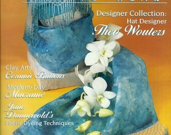 Belle Armoire - Spring 2002 Art to Wear Detailed DIY Instruction Book for Many Wearable Fiber Arts and Jewelry Projects