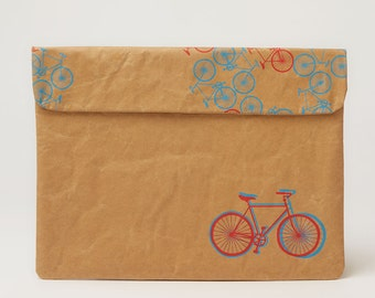 City Bikes Laptop Paper Sleeve