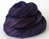 Handspun Yarn - Lace Silk and Yak Yarn - Luxury Yarn - 1.3oz, 184yd, 19WPI, Lace