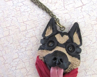 Dogmeat Fallout 4 inspired companion necklace
