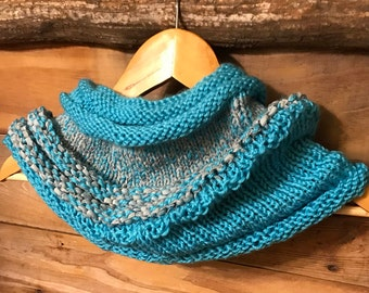 Cowl Knitted Scarf