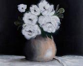 Giclee Fine Art Print, Fine Art, Floral Painting, Wall Decor, Wall Art, Home Decor, Contemporary Art, Modern Art, 8x10