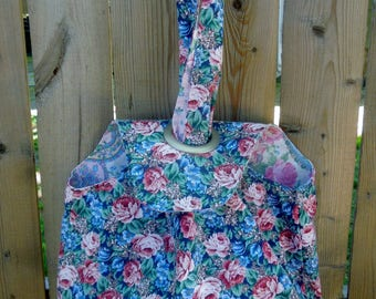 Small Grommet Bag, Project Tote-Rose Garden