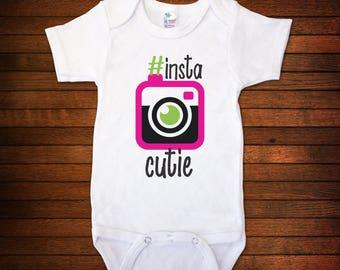InstaCutie Bodysuit - Funny Baby Gift