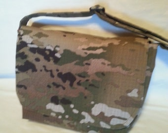Army purse messenger bag handbag handmade Army Mom Navy Mom Air Force Mom Army Aunt Navy Gramma your choice of words on your choice fabric