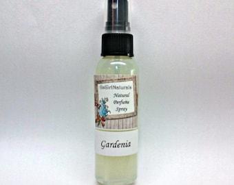Gardenia Natural Perfume Spray, Body Spray, Perfume