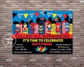 Superhero Invitation, Superhero Birthday Invitation, Super Hero Invitation, DIY Printable, YOU PRINT, Superhero Birthday, Superhero Party