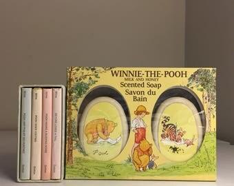 1968 Vintage Classic Winnie the Pooh Mini Books & Soaps