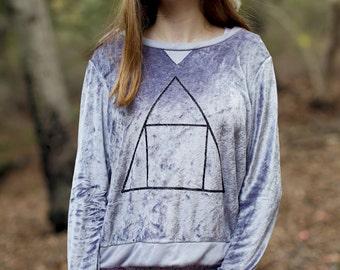 organic yoga sweatshirt, organic yoga top, organic yoga shirt, bamboo sweatshirt, bamboo velour hoodie, bamboo velour clothing, bamboo shirt