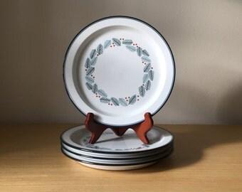 dansk christmas plates