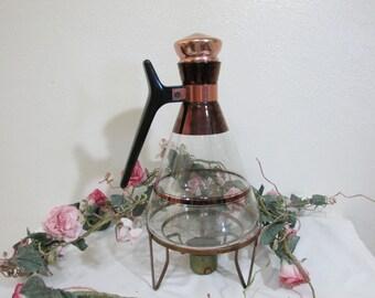 Mid Century Coffee Carafe Atomic Design