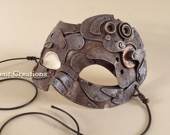 Steampunk Rust Mask