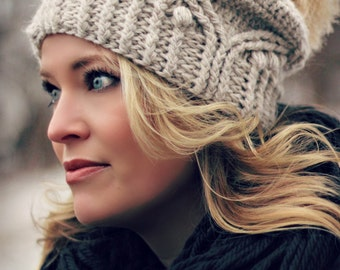Royal Twist Hat Crochet Pattern