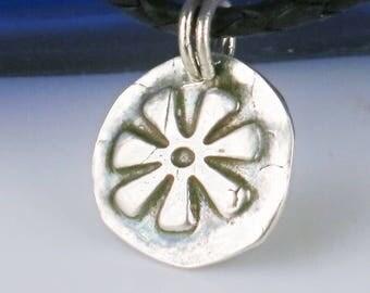African Adinkra Symbol for Wisdom - Creativity - ANANSE NTONTAN  - African Adinkra Fine Silver Pendant - Adinkra Ananse Silver Pendant Gift