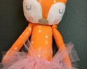 Ballerina tutu Fox Doll