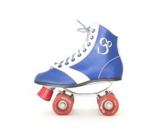 Vintage Rollerskates * 70s Roller Skates * Roller Derby Skates * Big Kid size 1