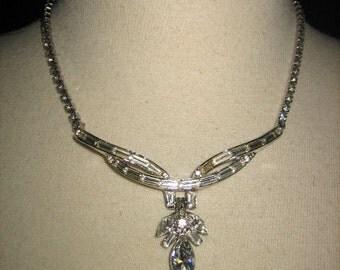 Vintage 50s Glittering Rhinestone Necklace