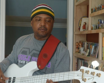 Mens Hats Collection Jaco Pastorius Inspired Beanie For Your Bass Player Boyfriend Number 19