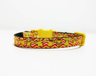 "Breakaway Pikachu Pokemon Cat Kitten Safety 3/8"" Collar"