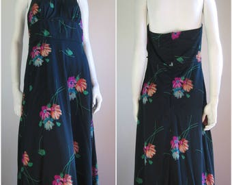 Betty Barclay 70s vintage Halter dress