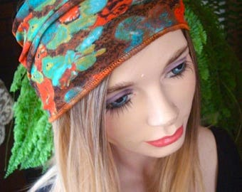 Womens wig Chemo hat with choice of two headbands