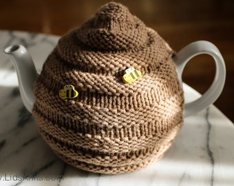 Beehive Teapot Cozy - Hand Knit