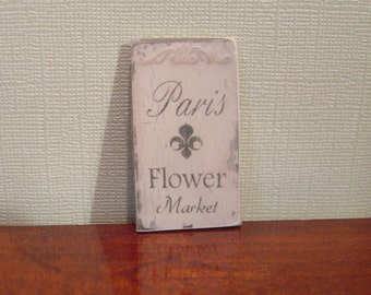 Miniature Dollhouse Sign One Inch Scale 1:12