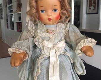 Little Bo Peep Cloth Krueger Doll/ Rag Doll/ Cloth Doll/Krueger Doll/ Storybook Doll/ Little Bo Peep /Richard Krueger Company /by Gatormom13