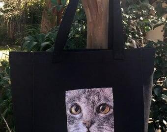 Tote Bag - Cat's Eyes
