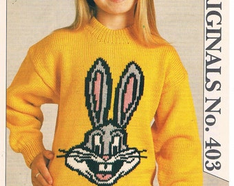 Bugs Bunny - Knitting Pattern by Woman's Day