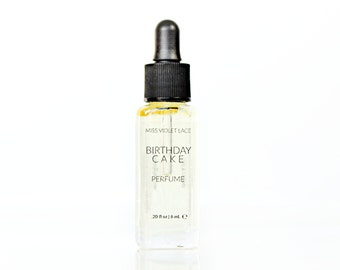Birthday Cake perfume | Vanilla Frosting, Cake Batter and Sprinkles | 100% natural and vegan