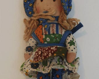Little Holly Hobby cloth doll