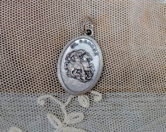 St. George Pray for Us Pendant