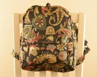 Gypsy Paisley Backpack
