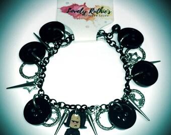 Snape Charm Bracelet