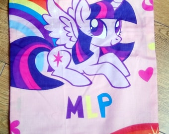 My little pony cushion, character cushion, Twilight sparkle pillow, kids gift idea, stocking filler, mothers day