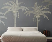 New! Palm TREE - Stencil for Walls - Large - 7.5 FEET Tall - Reusable and Reversible stencil for DIY home decor Wall Art