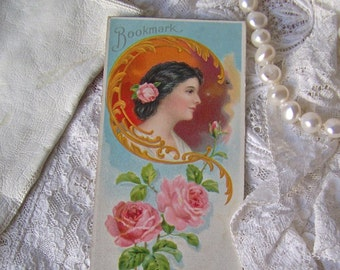 Victorian Trade Card Bookmark Toiletry Advertising Marietta Stanley Co 1895-1904