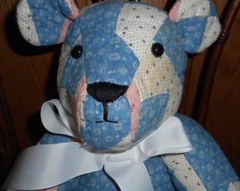 Teddy Bear Vintage Quilt