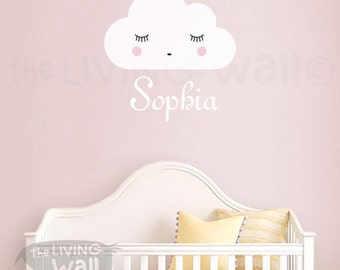 Baby Name Wall Decal Etsy - Nursery wall decals australia