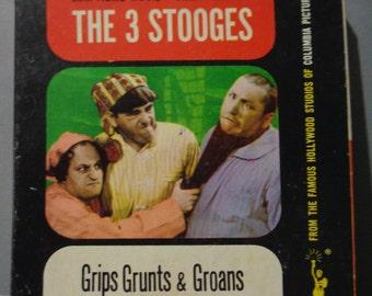 "THREE STOOGES, Dizzy Doctors, Curly, Moe Howard, Larry Fine, 8mm, Black & White, 5"" Reel,Silent, Castle Film"