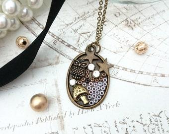 Owl Necklace - Owl Pendant