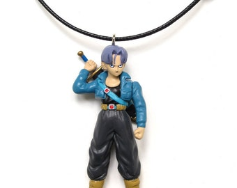 Trunks - found figure upcycled necklace