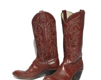 6.5 C | Women's Dan Post Distressed Western Boots