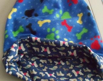 Pawprints & Bones! Snuggle Sack